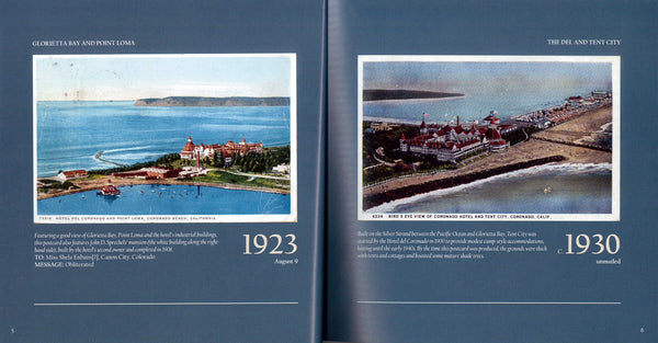 Wish You Were Here: Vintage Postcards from the Hotel del Coronado - Book