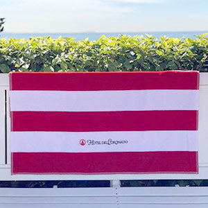 Luxe Horizon Striped Beach Towel