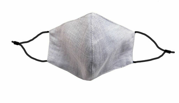 Fridaze Linen Mask with Filter-Silver