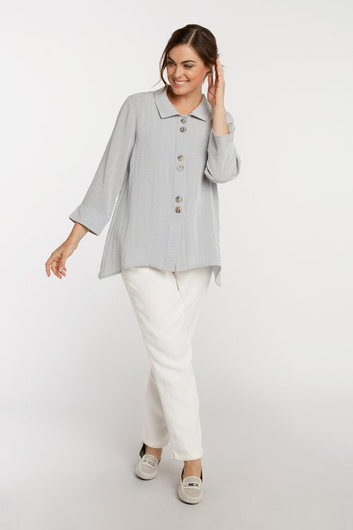 Fridaze Susan Swing Linen Tunic