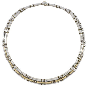 John Mederios Canias 3 Row Necklace