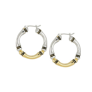 John Medeiros Canias Collection Large Hoop Earring
