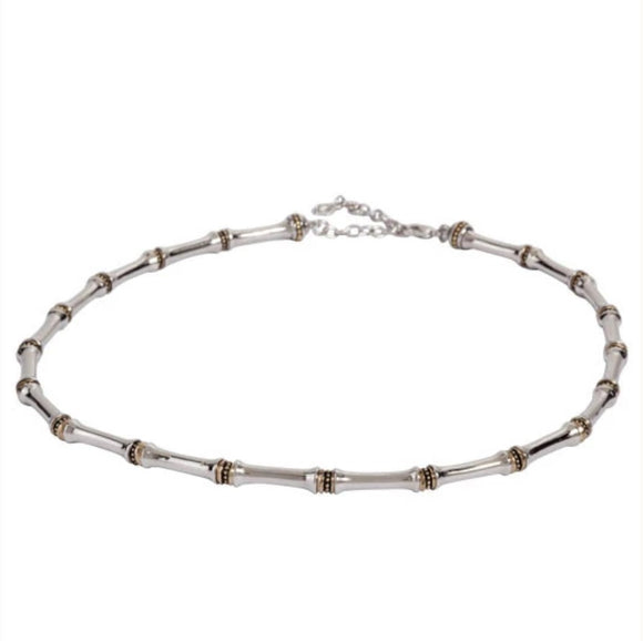 John Mederios Canias Single Row Beaded Necklace