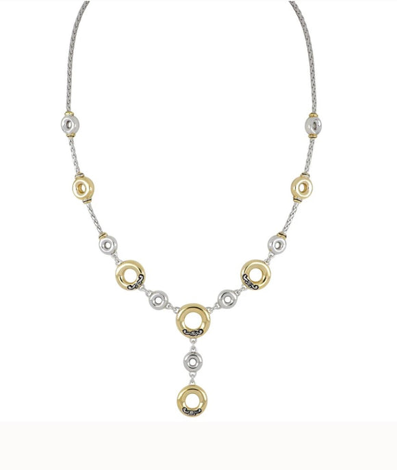 John Mederios Ciclo D'Amor Drop Necklace