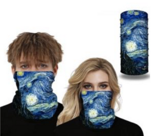 Starry Night neck gaiter