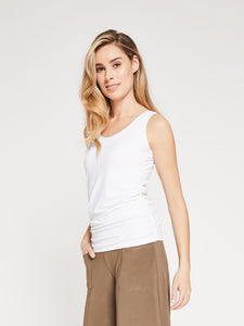 Sympli Sleeveless Glance tee