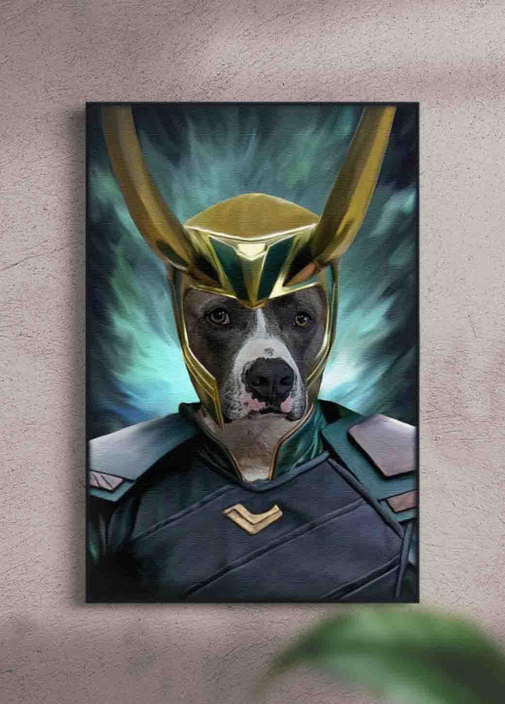 Loki - Custom Pet Portrait - NextGenPaws Pet Portraits