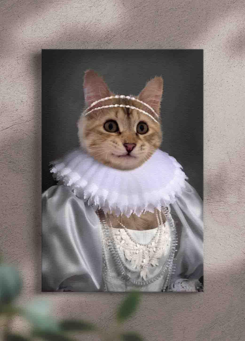 The Bride - Custom Pet Portrait - NextGenPaws Pet Portraits
