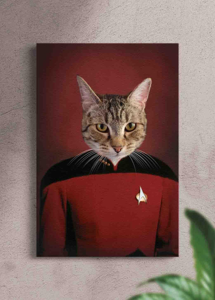 The Trekkie - Custom Pet Portrait - NextGenPaws Pet Portraits