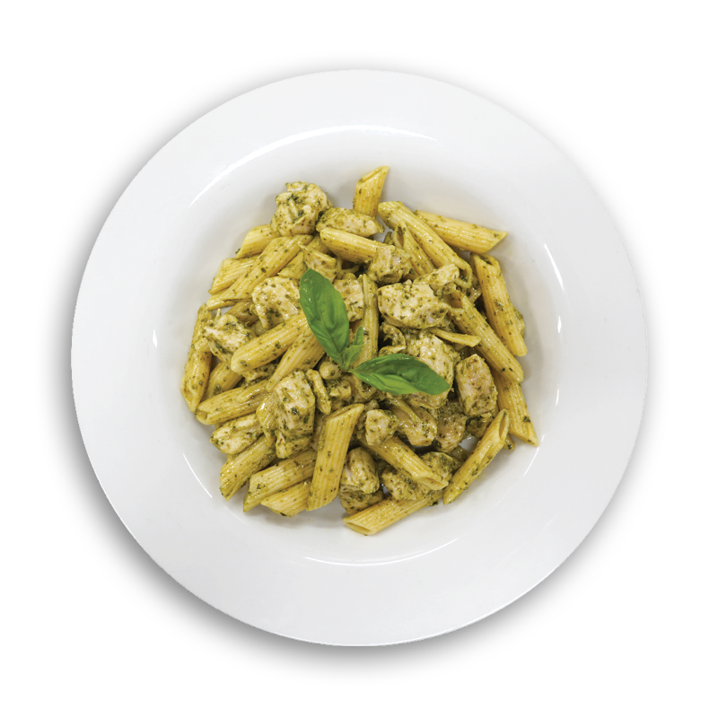 Basil Pesto Penne Chicken