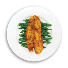 Load image into Gallery viewer, Bassa Fish and Green Beans