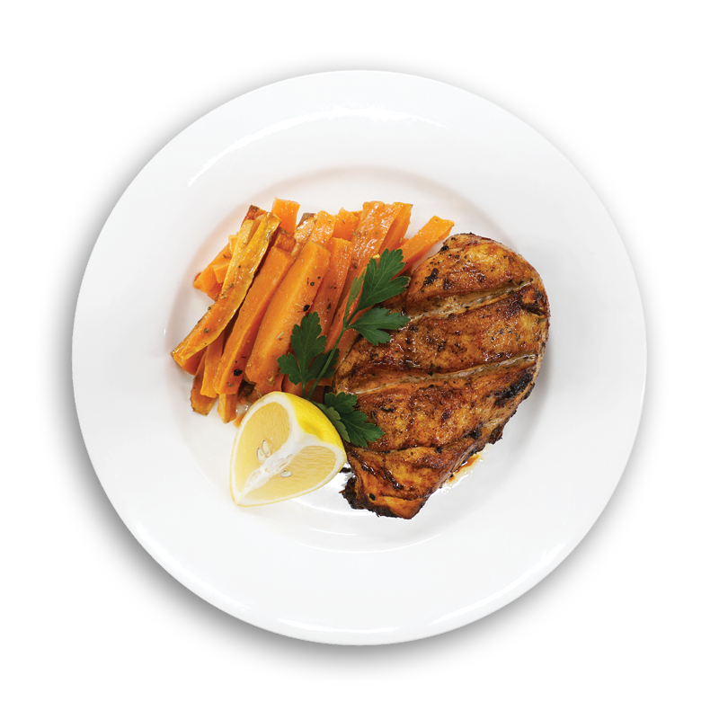 Chicken & Sweet Potato