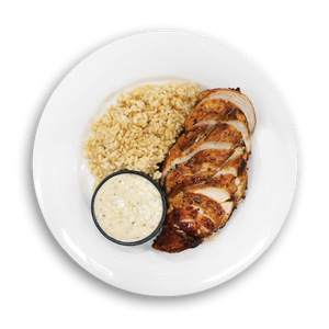 Honey Mustard Chicken & Brown Rice
