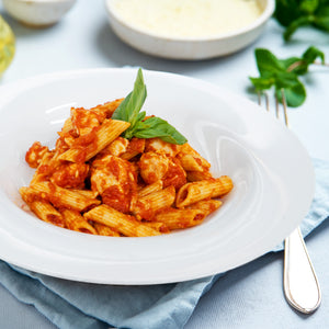Napoletana Chicken With Penne