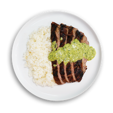 Load image into Gallery viewer, Steak on a Plate with ChimiChurri Sauce - Fresh