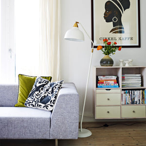 Urban Floor lamp, matt Whisper White