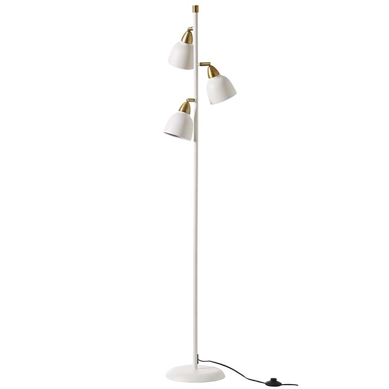 Urban Triple Floor Lamp, Matt Whisper White