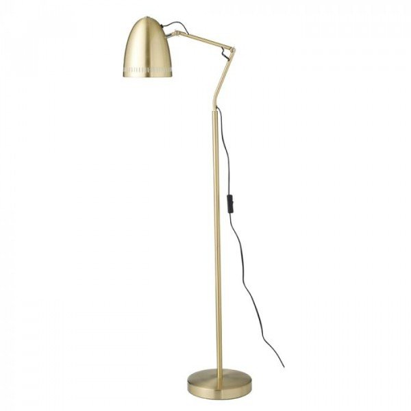 Dynamo Floor lamp, Brushed Brass