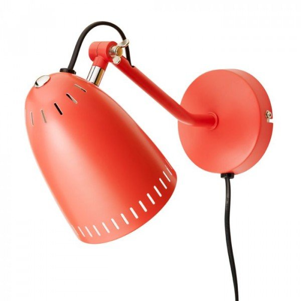 Dynamo Wall lamp, matt Tomato
