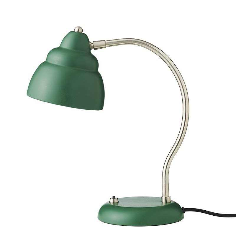 Bubble Table lamp, matt Dark Green