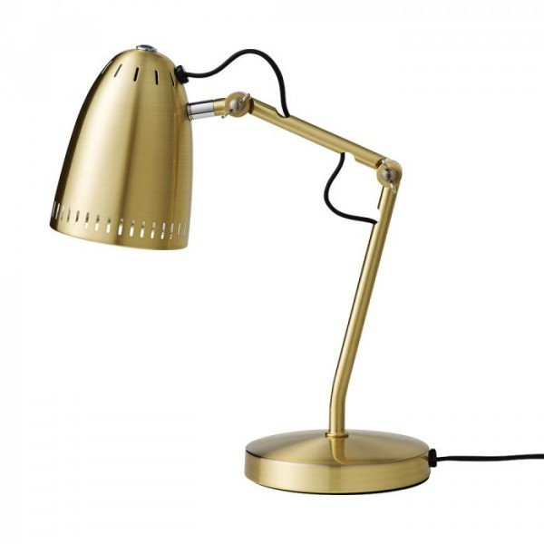 Dynamo Table lamp, Brushed Brass