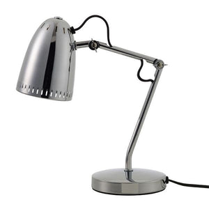 Dynamo Table lamp, Chrome