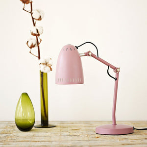 Dynamo Table lamp, matt Dusty Rose