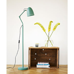 Dynamo Floor lamp, matt Duck Green