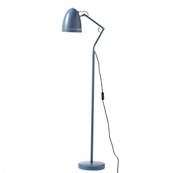 Dynamo Floor lamp, matt Smoke Blue