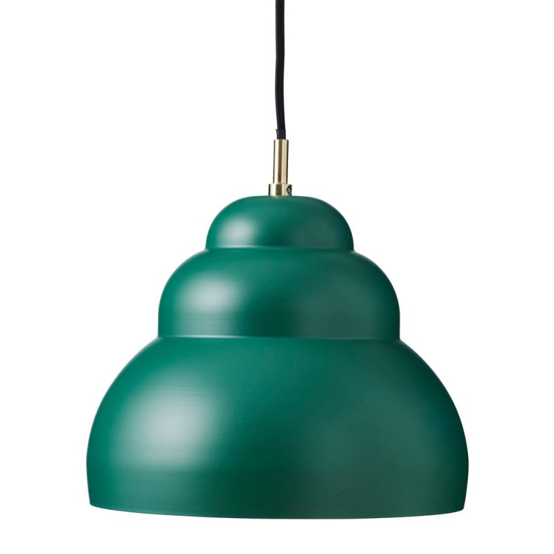 Bubble Pendant, matt Dark Green