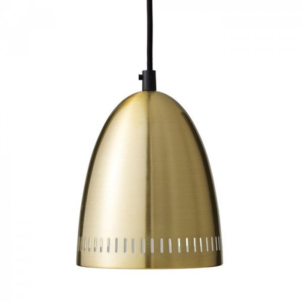 Dynamo Pendant, Brushed Brass
