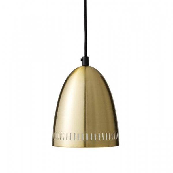 Mini Dynamo Pendant, Brushed Brass