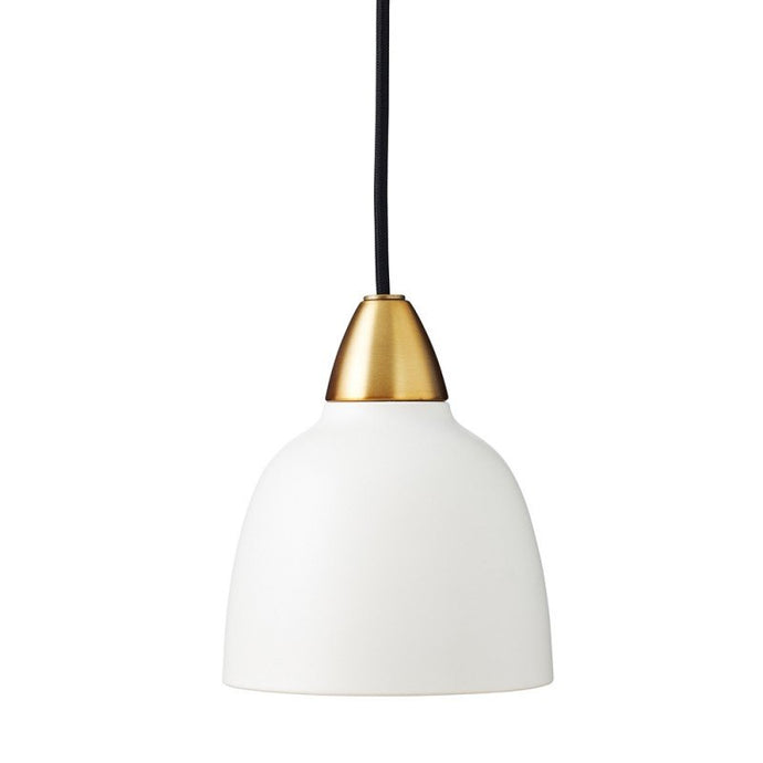 Mini Urban Pendant, Matt Whisper White