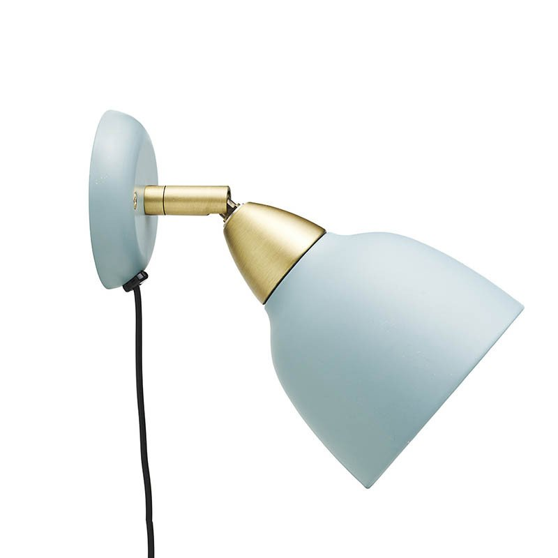 Urban Short Wall lamp, matt Mineral Blue