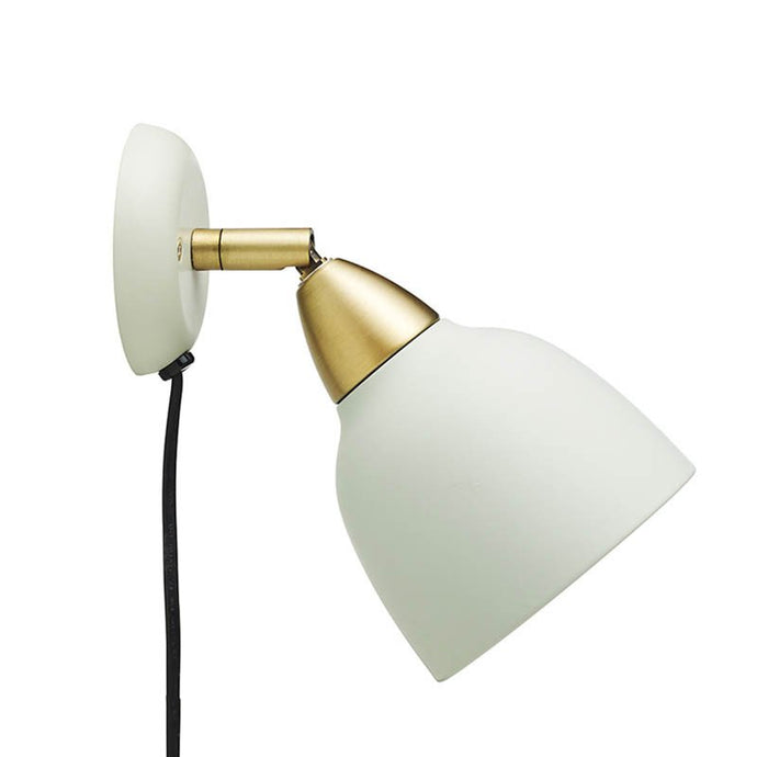 Urban Short Wall lamp, matt Misty Green