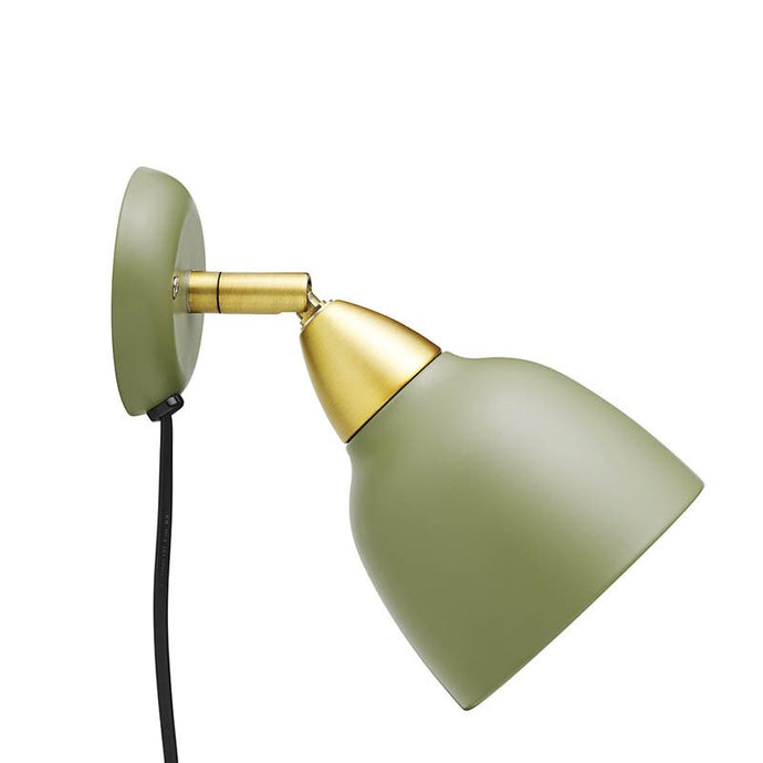 Urban Short Wall lamp, matt Olive