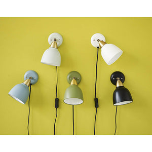 Urban Short Wall lamp, matt Real Black