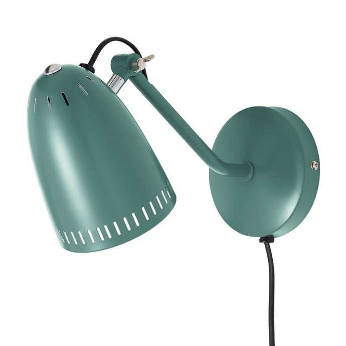 Dynamo Wall lamp, matt Duck Green