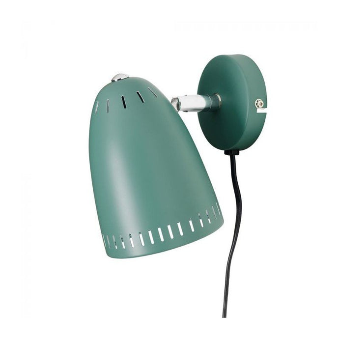 Dynamo Short Wall lamp, matt Duck Green