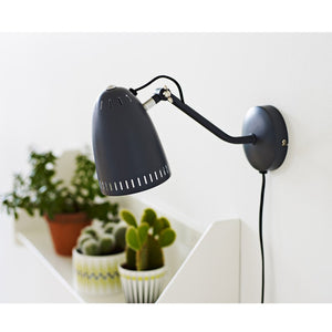 Dynamo Wall lamp, matt Almost Black