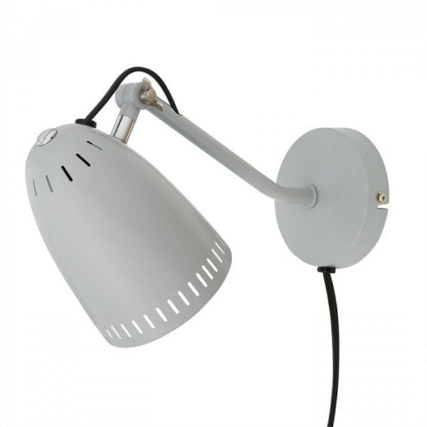 Dynamo Wall lamp, matt Light Grey