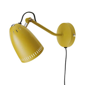 Dynamo Wall lamp, matt Mustard