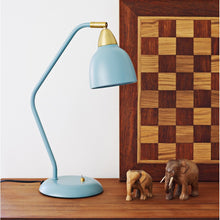 Load image into Gallery viewer, Urban Table lamp, matt Mineral Blue