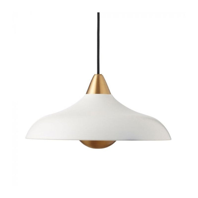Urban Wide Pendant, matt Whisper White