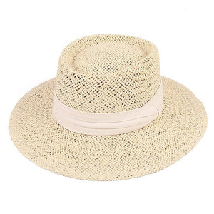 Seaside Vacation Hat Beige/White