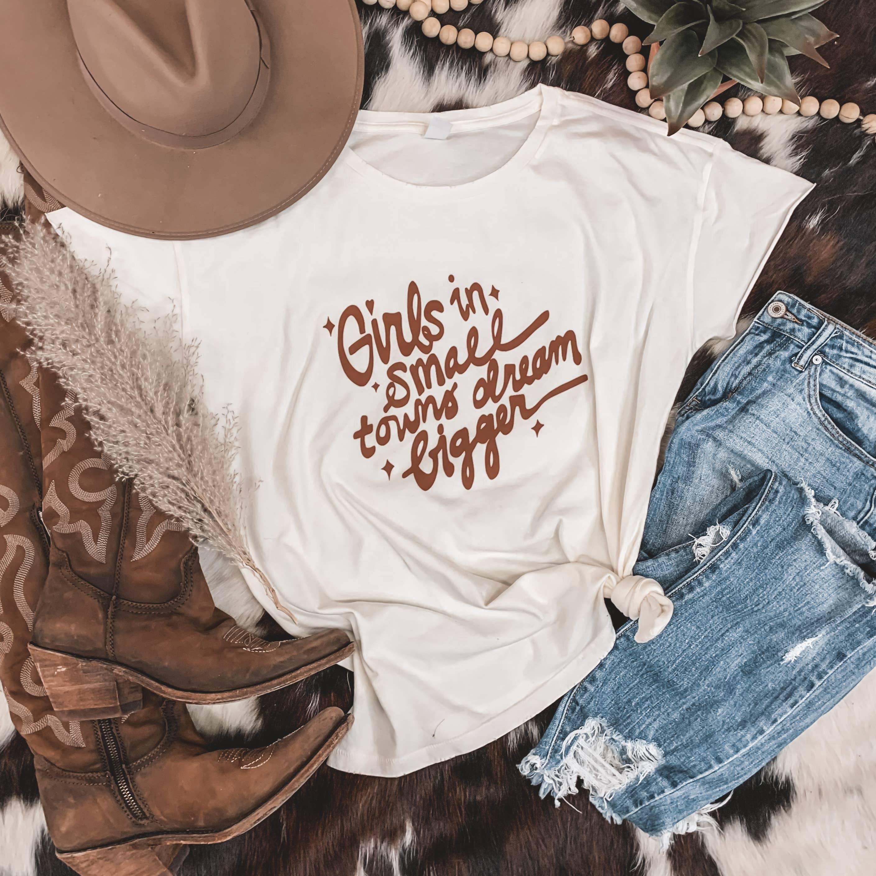 Girls In Small Towns Tee