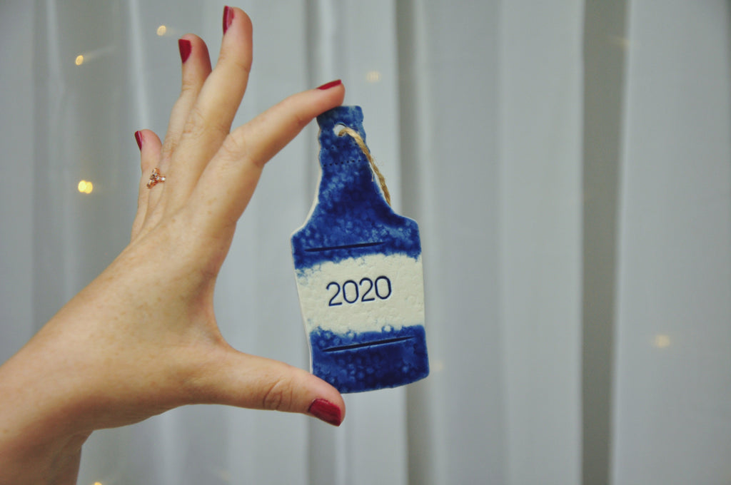 2020 Bottle Ornament
