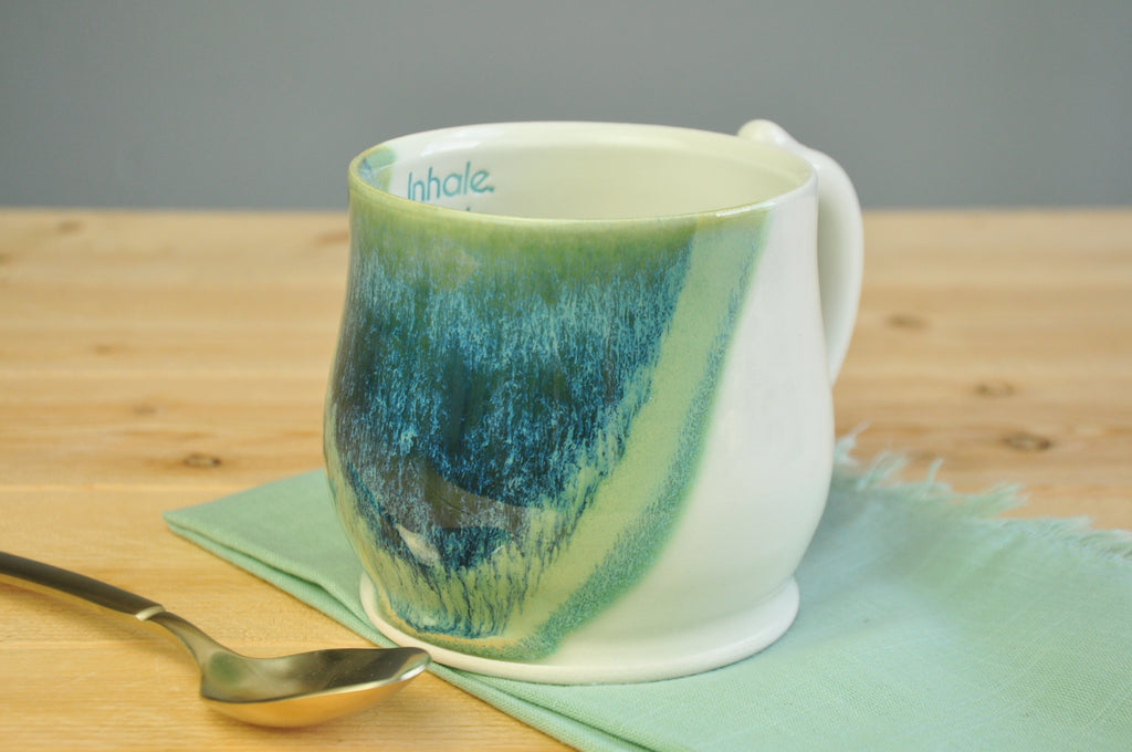 Inhale, Exhale - Mug of Encouragement