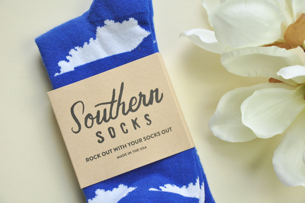Kentucky or Bourbon Socks
