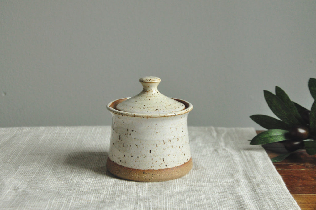 Fireside Sugar Pot